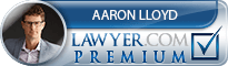 Aaron Michael Lloyd  Lawyer Badge