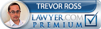 Trevor L. Ross  Lawyer Badge
