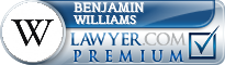 Benjamin A. Williams  Lawyer Badge