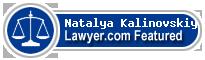 Natalya L. Kalinovskiy  Lawyer Badge