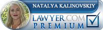 Natalya L. Kalinovskiy  Lawyer Badge