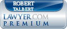 Robert Edward Talbert  Lawyer Badge
