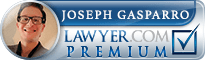 Joseph Anthony Gasparro  Lawyer Badge