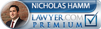 Nicholas S. Hamm  Lawyer Badge