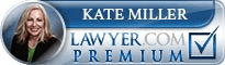 Kate Miller  Lawyer Badge