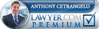 Anthony J. Cetrangelo  Lawyer Badge