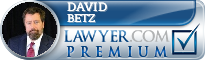 David Betz  Lawyer Badge