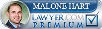 William Michael-Malone Hart  Lawyer Badge