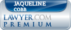 Jaqueline Cobb  Lawyer Badge