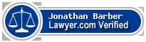 Jonathan Nicholas Barber  Lawyer Badge