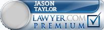 Jason Paul Taylor  Lawyer Badge