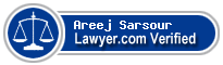 Areej Sarsour  Lawyer Badge