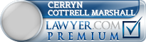 Cerryn R. Cottrell Cottrell Marshall  Lawyer Badge