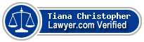 Tiana Rose Christopher  Lawyer Badge