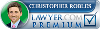 Christopher Ulysses Robles  Lawyer Badge