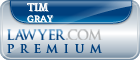 Tim Gray  Lawyer Badge
