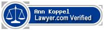 Ann Redlich Koppel  Lawyer Badge