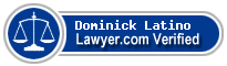 Dominick J. Latino  Lawyer Badge