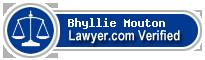 Bhyllie J. Mouton  Lawyer Badge