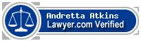 Andretta Breaux Atkins  Lawyer Badge