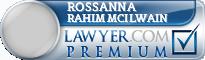 Rossanna Rahim Rahim Mcilwain  Lawyer Badge