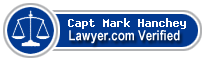 Capt Mark S. Hanchey  Lawyer Badge