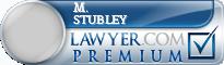 M. Stephen Stubley  Lawyer Badge