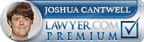 Joshua P. Cantwell  Lawyer Badge