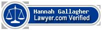 Hannah Voth Gallagher  Lawyer Badge