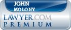 John W. Molony  Lawyer Badge