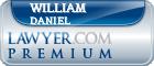 William Shipp Daniel  Lawyer Badge