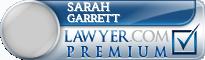 Sarah A. Garrett  Lawyer Badge