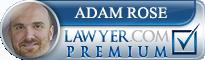 Adam D. Rose  Lawyer Badge