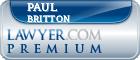 Paul C. Britton  Lawyer Badge