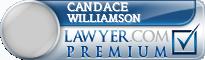 Candace Lenette Williamson  Lawyer Badge