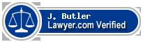 J. Dudley Butler  Lawyer Badge