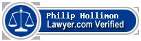 Philip Nicklaus Hollimon  Lawyer Badge