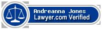 Andreanna Dominique Jones  Lawyer Badge