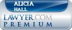 Alicia Scherini Hall  Lawyer Badge