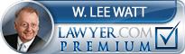 W. Lee Watt  Lawyer Badge