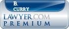B. W. Curry  Lawyer Badge