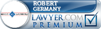 Robert Geoffrey Germany  Lawyer Badge