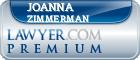 Joanna Braswell Zimmerman  Lawyer Badge