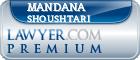 Mandana Shoushtari  Lawyer Badge