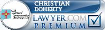 Christian C. Doherty  Lawyer Badge