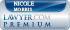Nicole Ann Morris  Lawyer Badge