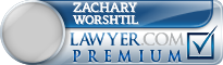 Zachary William Worshtil  Lawyer Badge