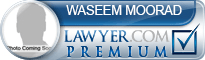 Waseem Moorad  Lawyer Badge