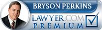 Bryson Perkins  Lawyer Badge