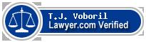 T.J. Voboril  Lawyer Badge